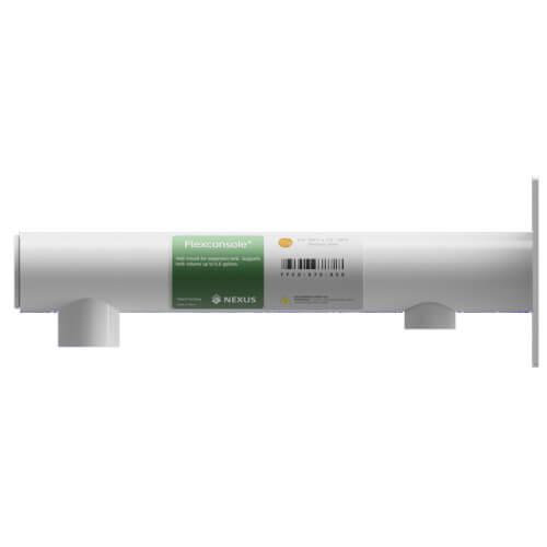 "Nexus Flexconsole - 3/4"" x 1/2"" NPT - Stainless Steel (White) Product Image"