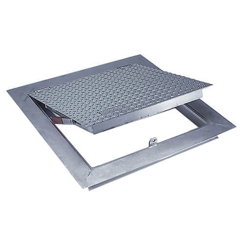 """24"""" x 36"""" (Frame Opening) FA-300 Angle Frame Floor Doors Product Image"""