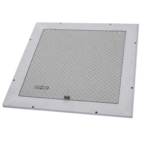 "36"" x 36"" (Frame Opening) FA-300 Retrofit Angle Frame Floor Door Product Image"