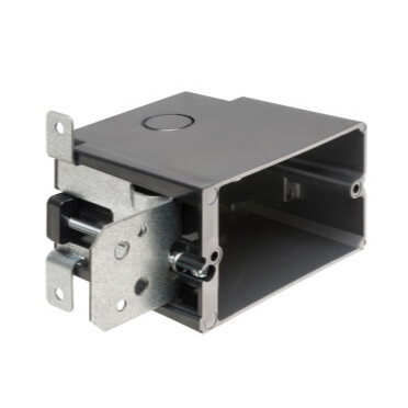 In/Out Adjustable Outlet Boxes For New Construction  Product Image