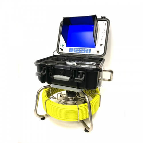 Self-Leveling Color Camera Head w/ Layflat 200' Cable & Reel Product Image
