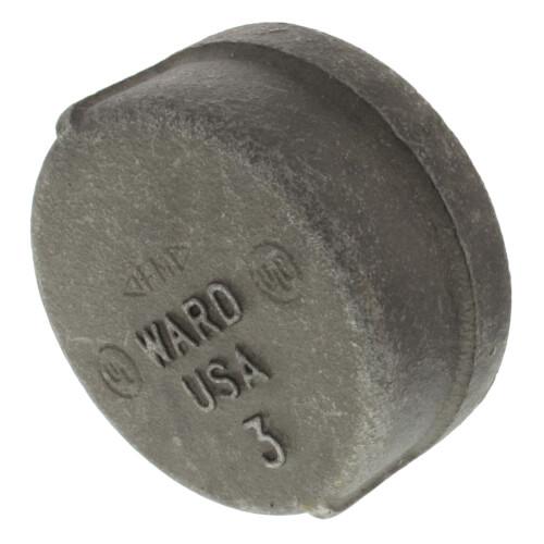 """3"""" Black Cap Product Image"""