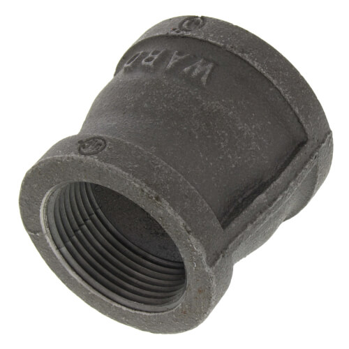 "1-1/2"" x 1-1/4"" Black Coupling Product Image"
