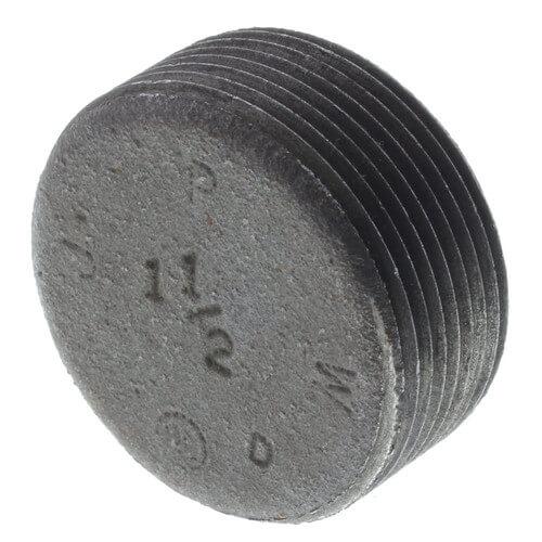 "1-1/2"" Black Countersunk Plug Product Image"
