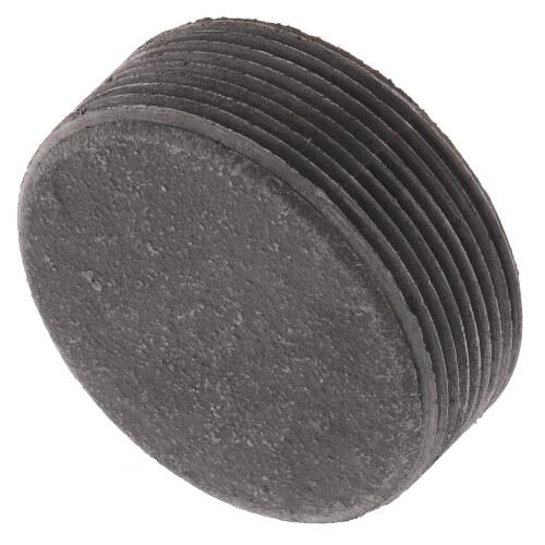 "2"" Black Countersunk Plug Product Image"