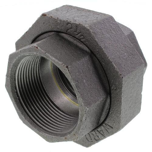 """2-1/2"""" Black Union Product Image"""