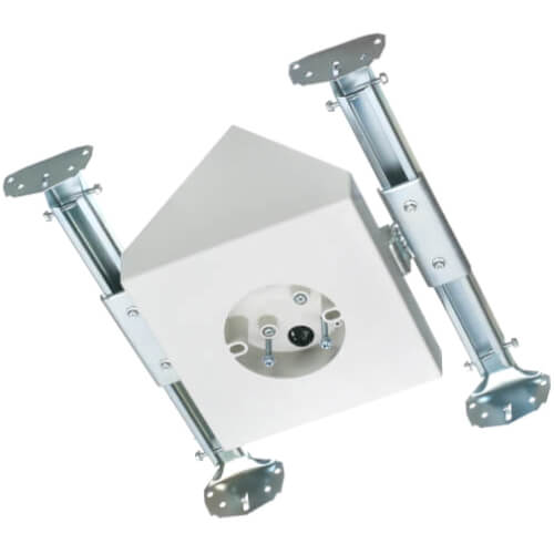 Fan & Fixture Mounting Box, Cathedral Ceiling Mount, 80° Slope w/ Adjustable Brackets Product Image