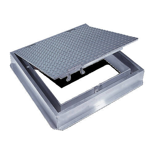 """36"""" x 36"""" (Frame Opening) FC-300 Channel Frame Floor Doors Product Image"""