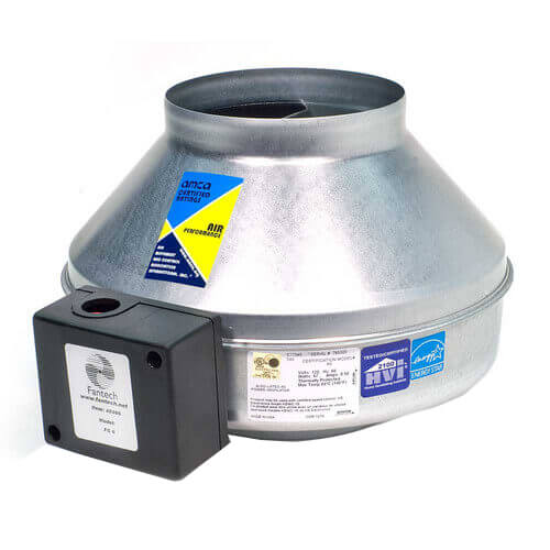 "FG Series Round Inline Exhaust Fan, 10"" Duct (513 CFM) Product Image"