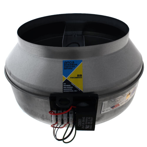 """FG Series Round Inline Exhaust Fan, 12"""" Duct (940 CFM) Product Image"""