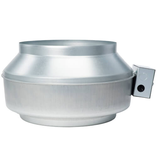 """FG Series Round Inline Exhaust Fan, 12"""" Duct, EC Motor (805 CFM) Product Image"""