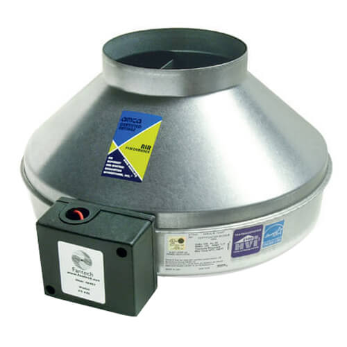 """FG Series Round Inline Exhaust Fan, 6"""" Duct (483 CFM) Product Image"""