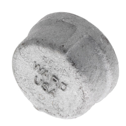 "2"" Galv Cap Product Image"