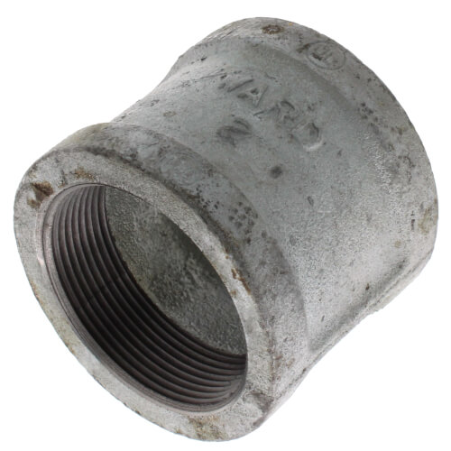 "1/2"" x 1/8"" Galv Pipe Coupling Product Image"