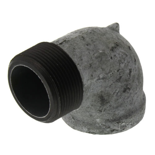 """1-1/2"""" Galv 90° Street Elbow Product Image"""