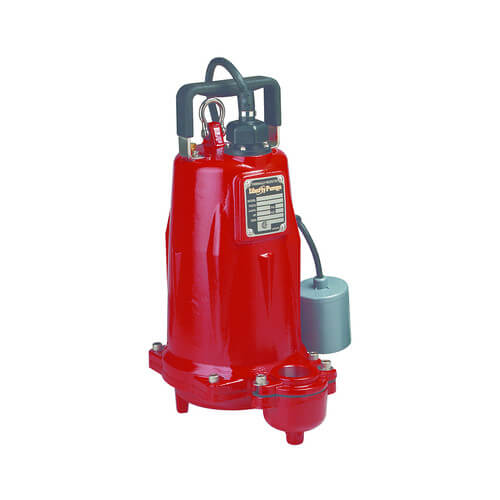 2 HP C.I. Manual Submersible Effluent Pump - 575v - 35ft Cord - 3 Phase Product Image