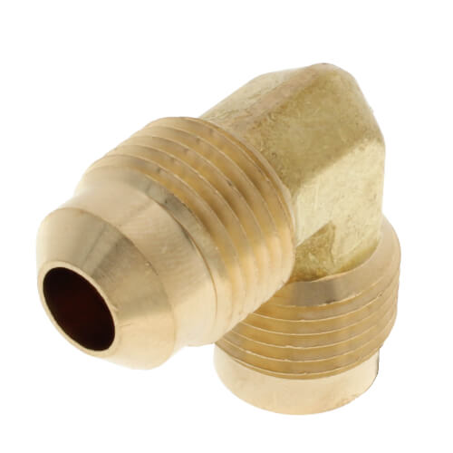 """3/8"""" Brass Flare Elbow Product Image"""