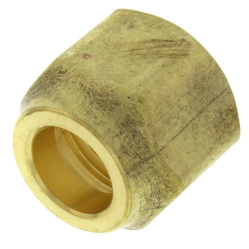 """1/2"""" Brass Short Forged Flare Nut Product Image"""