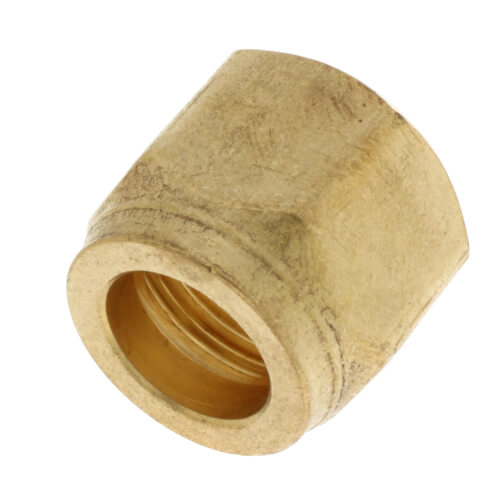"""5/8"""" Brass Short Forged Flare Nut Product Image"""