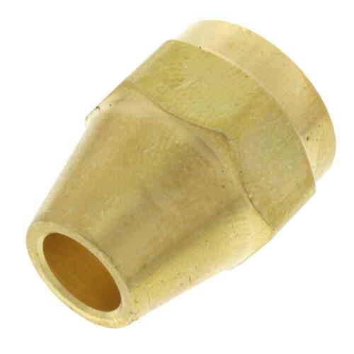 "1/4"" Brass Short Flare Nut Product Image"