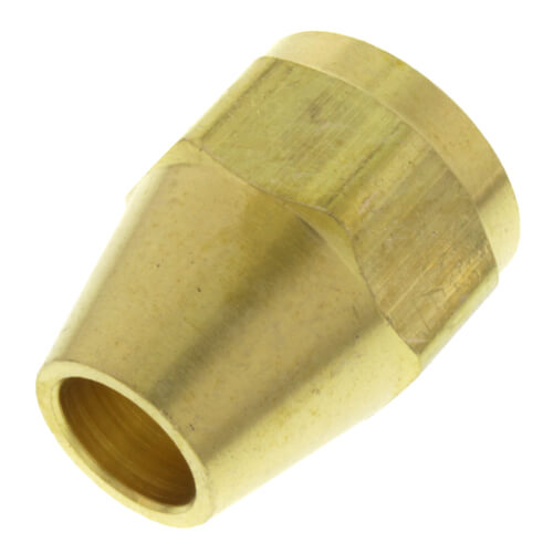 "3/8"" Brass Short Flare Nut Product Image"