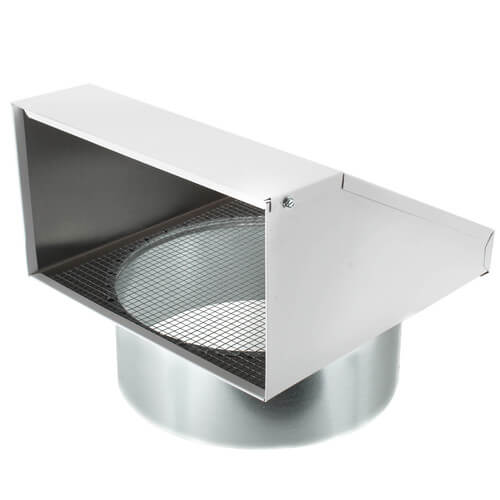 """FML10 Fixed Metal Hood for Supply or Exhaust, 10"""" Duct (Single Unit) Product Image"""