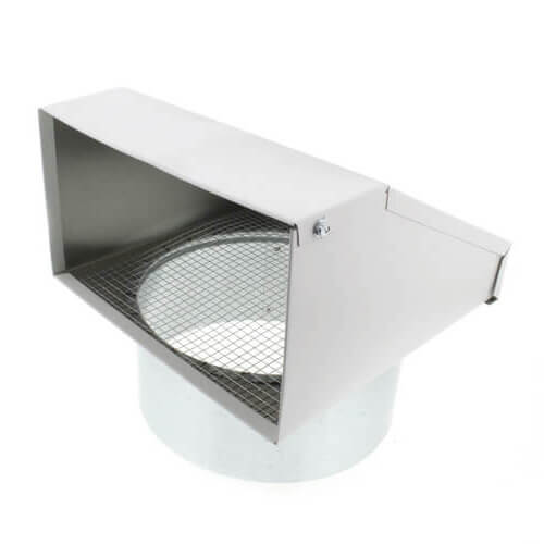 "FML8 Fixed Metal Hood for Supply or Exhaust, 8"" Duct (Single Unit) Product Image"