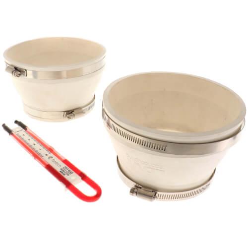 "6"" x 4"" Radon Installation Kit Product Image"