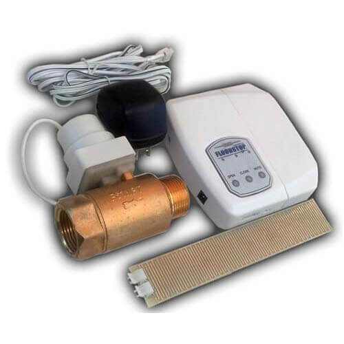 """Water Heater FloodStop w/ 1"""" Ball Valve Product Image"""