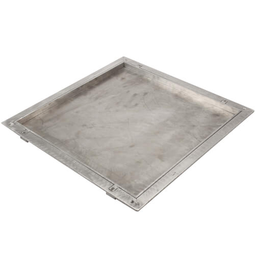 """24"""" x 24"""" (Frame Opening) FT-8080 Non Hinged: Floor Doors w/ 1"""" Panel Recessed Product Image"""