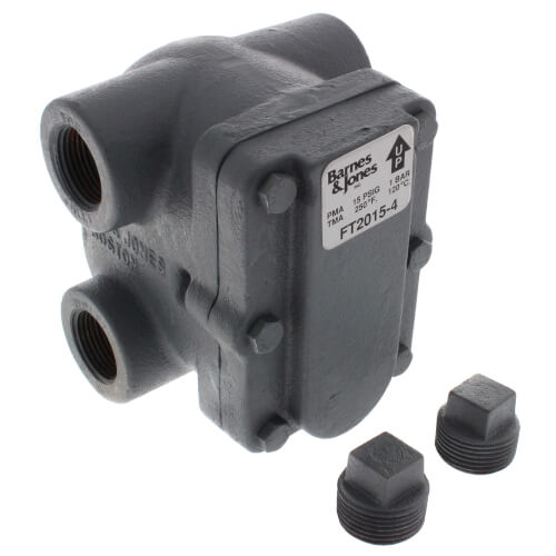 """1"""" H-Pattern Float & Thermostatic Steam Trap (15 PSIG) Product Image"""