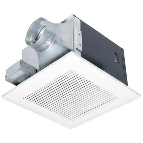 FVVK Panasonic FVVK WhisperGreen CFM Ceiling - Panasonic 50 cfm bathroom exhaust fan
