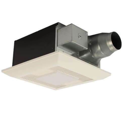 Fv 08 11vfl5 panasonic fv 08 11vfl5 whisperfit ez dual speed ventilation fan w light 80 or for Panasonic whisperfit ez bathroom fan 80 or 110 cfm