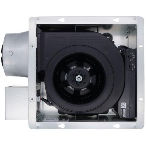 WhisperValue-DC 50-80-100 CFM Pick-A-Flow Ceiling Ventilation Fan w/ Multi-Speed for ASHRAE 62.2 Product Image