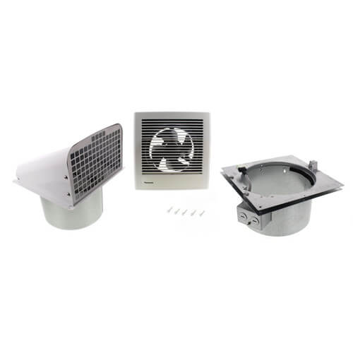 Through Wall Bathroom Exhaust Fans: WhisperWall 70 CFM Through