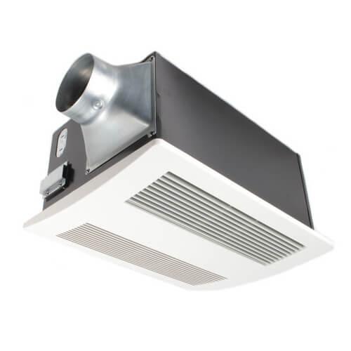 WhisperWarm 110 CFM Ceiling Ventilation Fan w  Heater Product Image. FV 11VH2   Panasonic FV 11VH2   WhisperWarm 110 CFM Ceiling