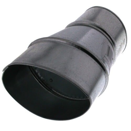 "4"" OVAL TO 3"" ROUND ADAPTER"