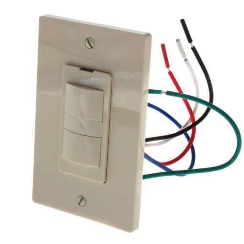 WhisperControl Preset Countdown & Hourly Timer On/Off Fan & Light Control (Almond) Product Image
