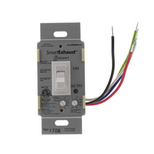 SmartExhaust Ventilation Control Switch Product Image