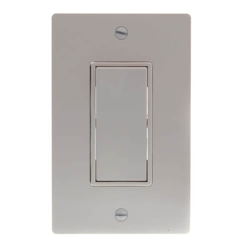 EcoSwitch Single Function On/Off Fan Wall Switch (White) Product Image