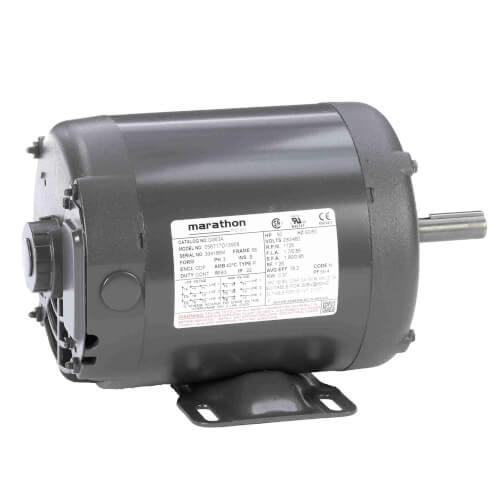 General Purpose Motor - 1/2 HP, 1800 RPM, 3 PH, Reversible (208-230/460V) Product Image