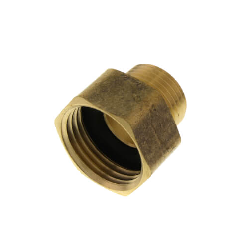 "3/4"" Female Hose x 1/2"" Male Pipe Brass Garden Hose Adapter (84GH) Product Image"
