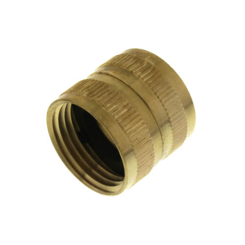 "3/4"" Female Hose x 3/4"" Female Hose Brass Garden Hose Swivel (S13) Product Image"