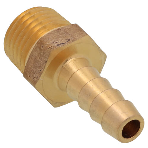 "1/4"" Hose Barb to Male Pipe Adapter Product Image"