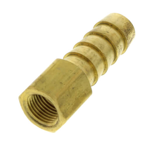 """3/8"""" Hose Barb x 1/8"""" Female Brass Pipe Adapter Product Image"""