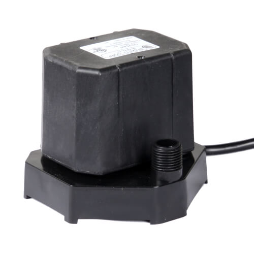 Bottom Intake Direct Drive Condensate Pump, 6 ft Cord w/ Plug (115V) Product Image