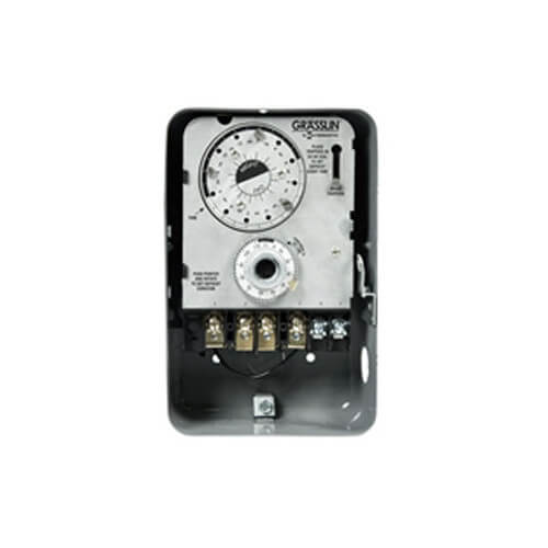 Heavy Duty Silver Plated Defrost Timer, 2 HP NEMA-1 (120V) Product Image