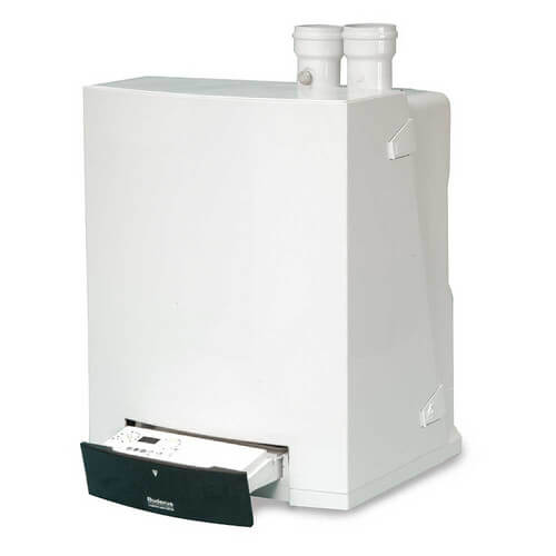 GB142-45 124,000 BTU Output Wall Hung Modulating-Condensing Gas Boiler - Nat Gas or LP Product Image