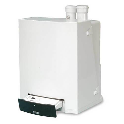 GB142-60 168,000 BTU Output Wall Hung Modulating-Condensing Gas Boiler - Nat Gas or LP Product Image