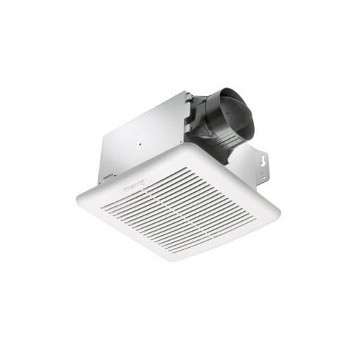 GBR80H BreezGreenBuilder G2 Series, Single Speed Bath Fan with Adjustable Humidity Sensor (80 CFM) Product Image